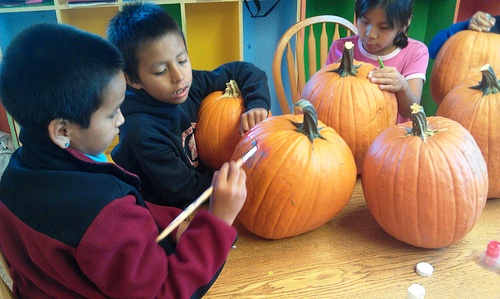 Crow Creek Boys and Girls Club Halloween Prep