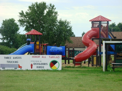 Playground in Fort Thompson