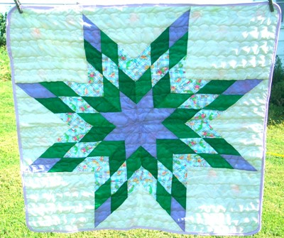 Star Quilt from Crow Creek